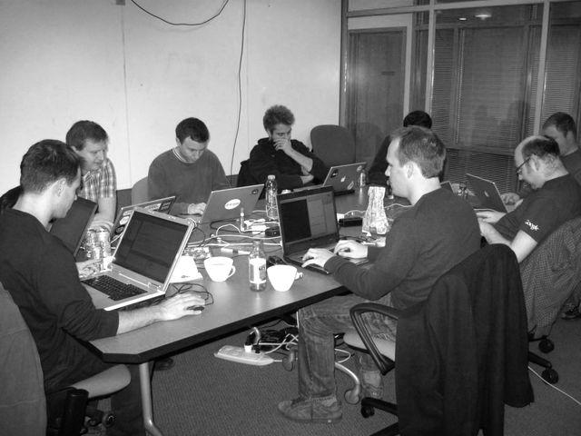Fields in core code sprint