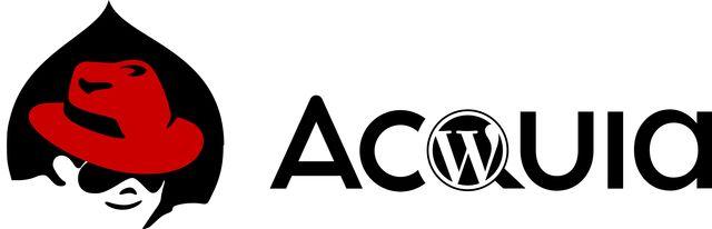 Red press of drupal logo