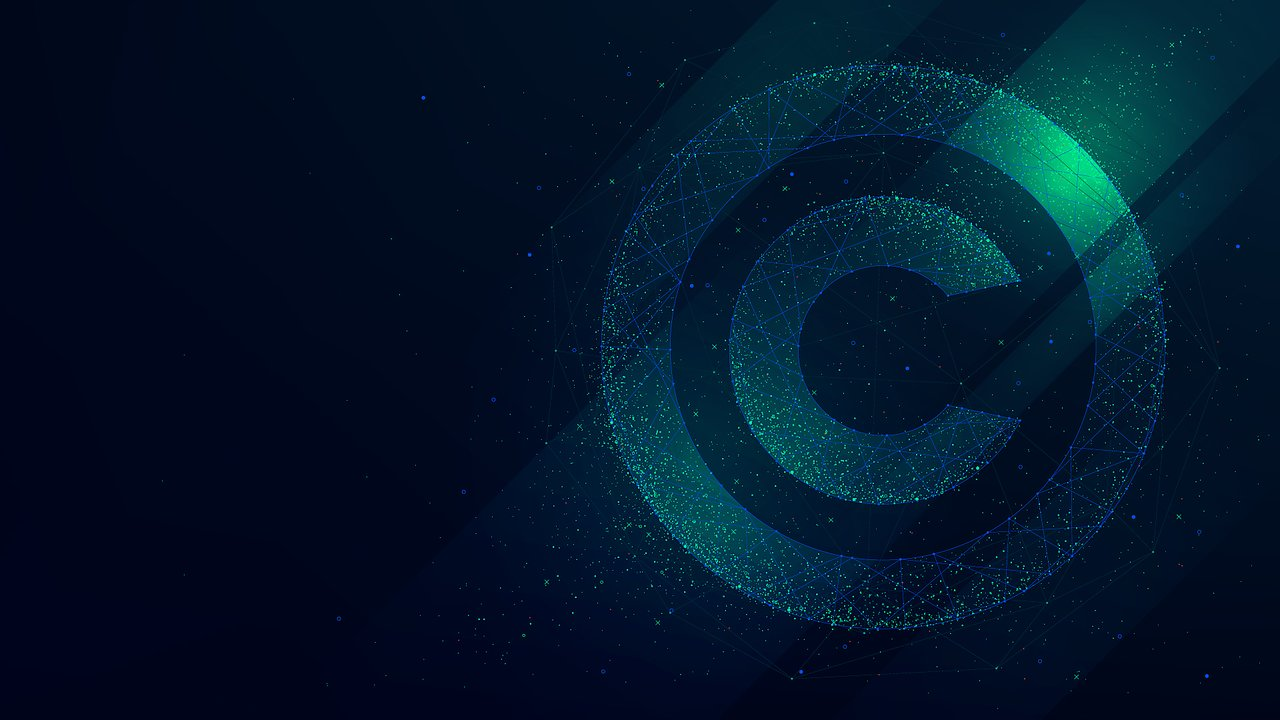 An image of a copyright sign