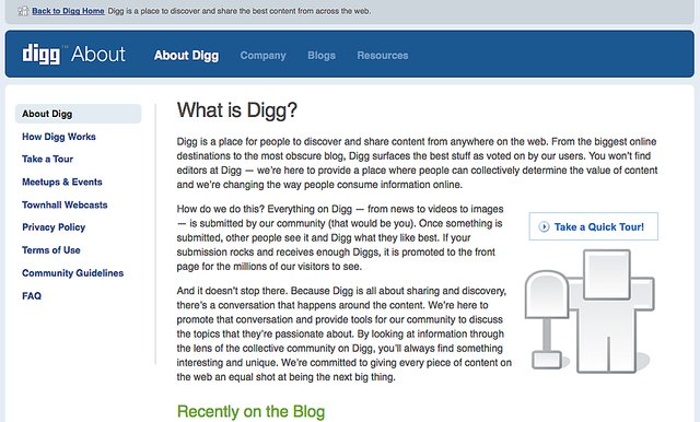 About digg