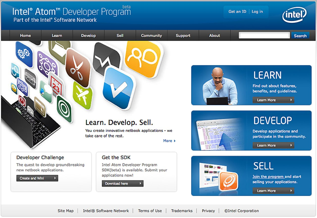 Appdeveloper intel