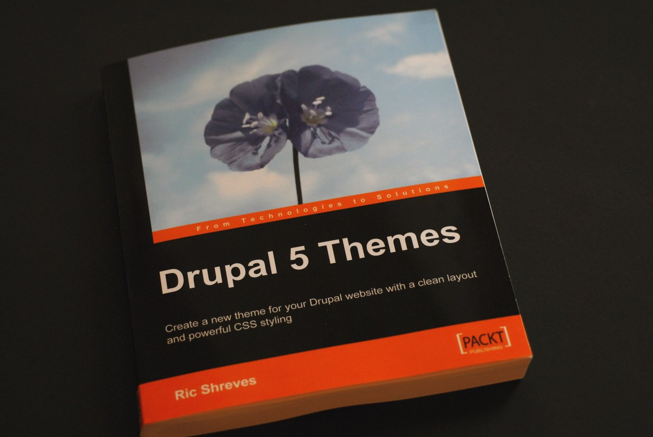 Book packt drupal5 themes
