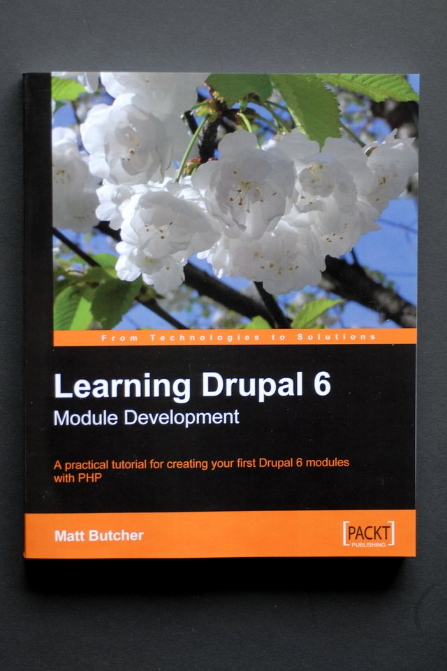 Book packt drupal6 learning