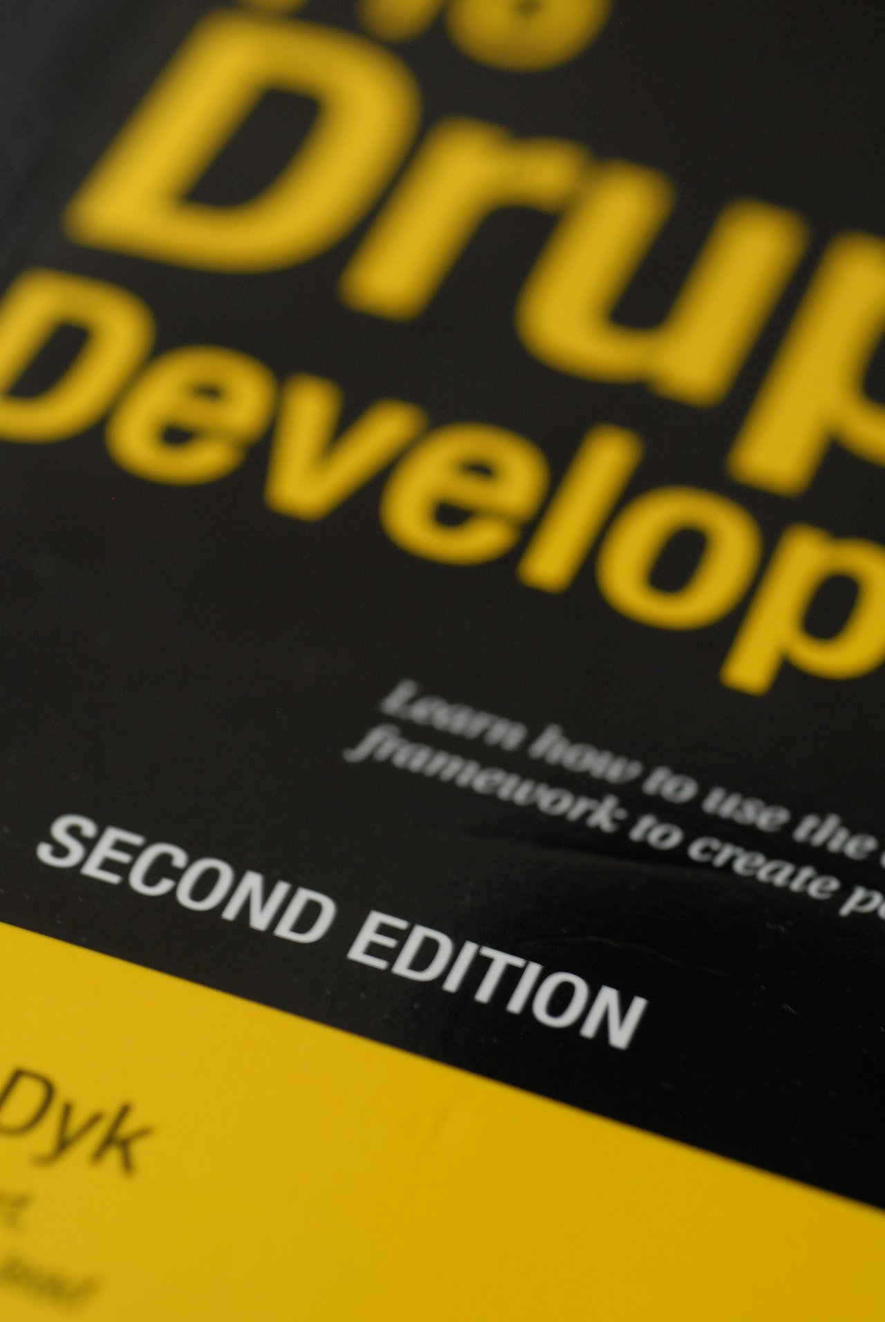 Book pro drupal development