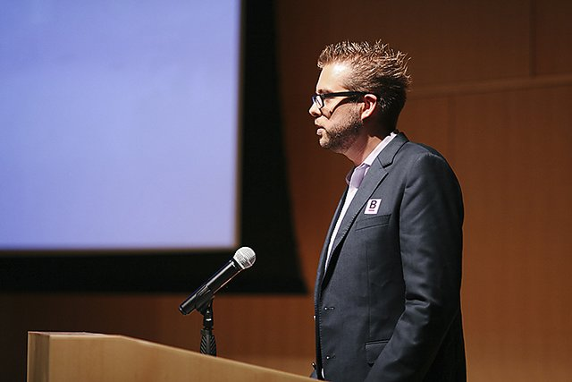Boston gov launch event