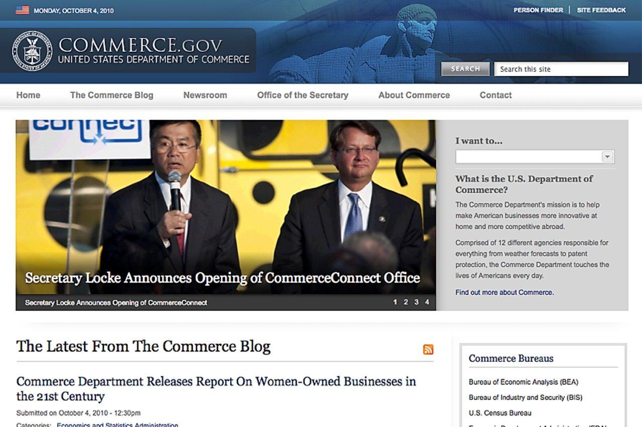 Commerce gov