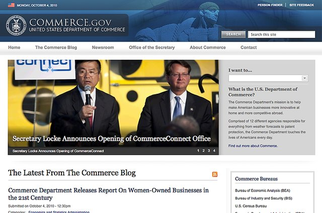 Commerce gov