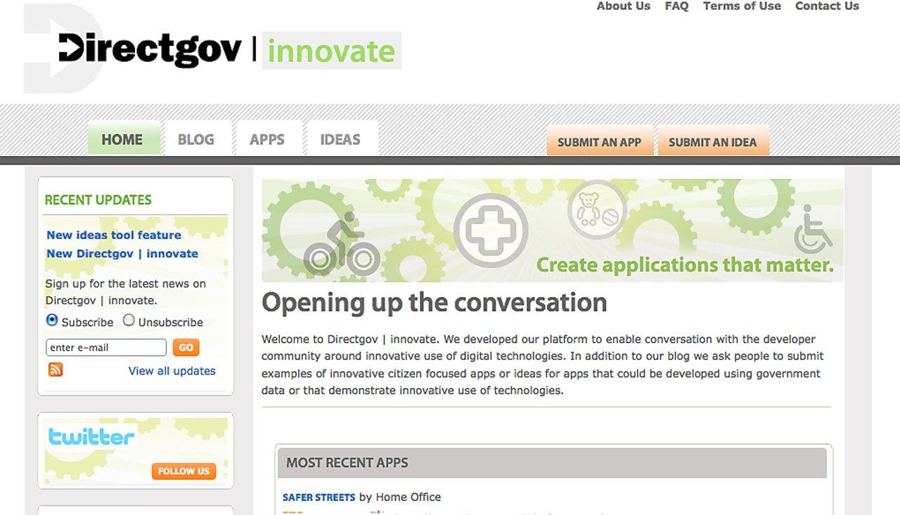 Directgov innovate