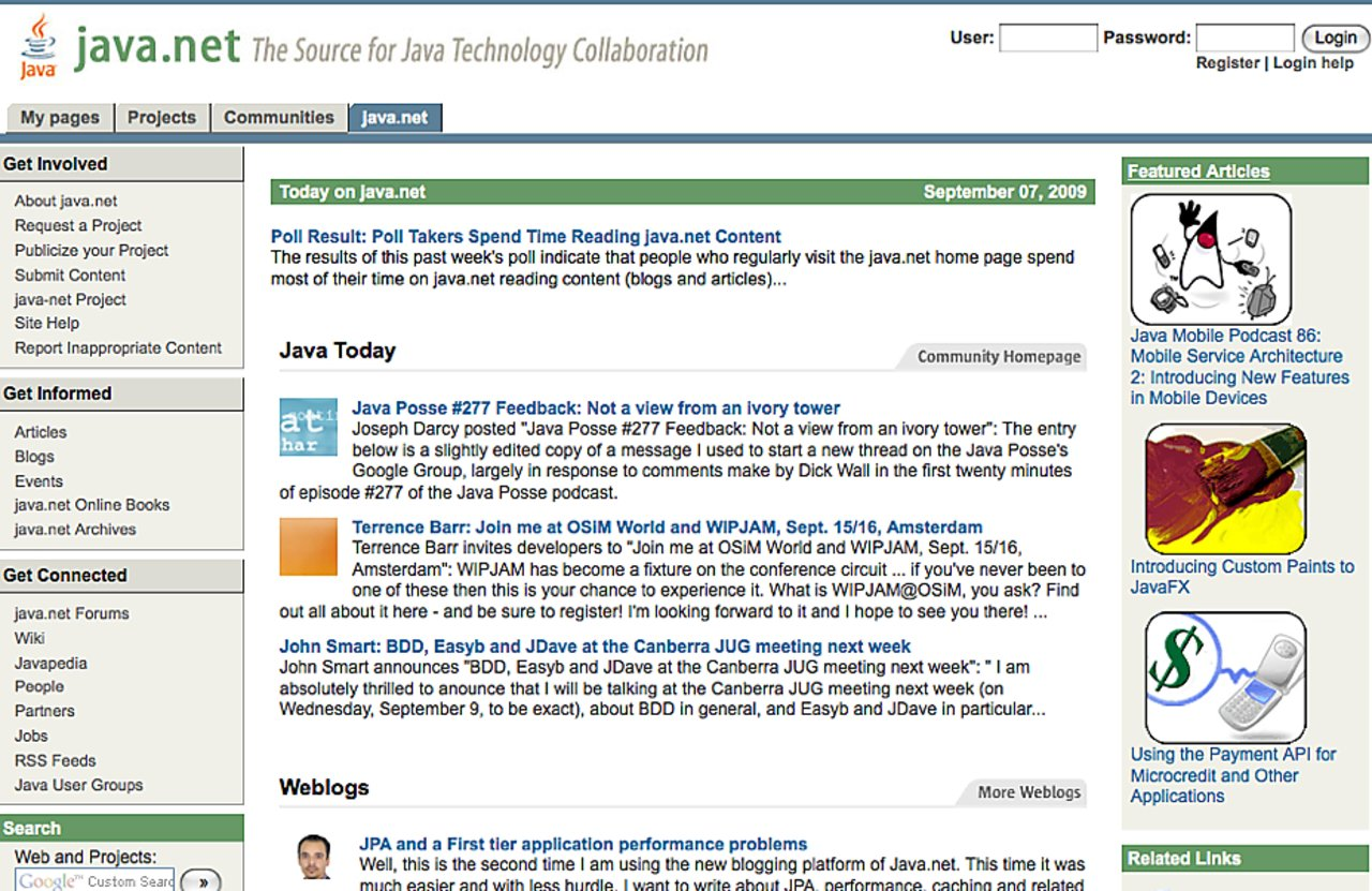 Java net