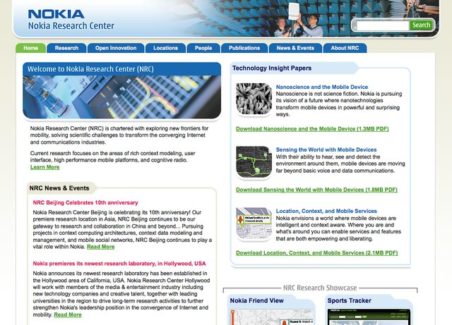Nokia research