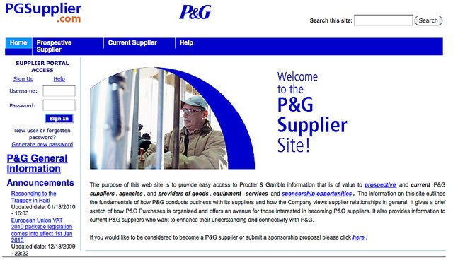 Pg supplier