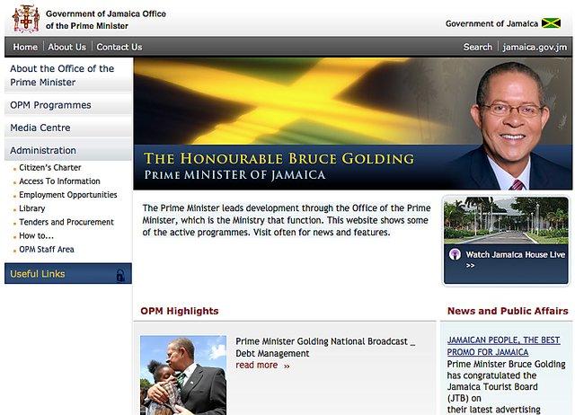 Prime minister jamaica