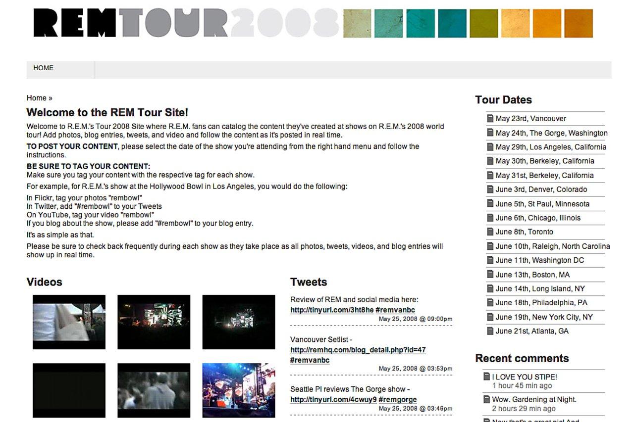 Rem tour