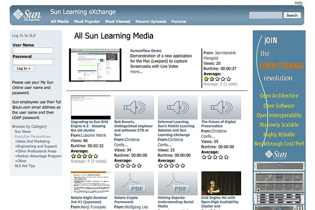 Sun learning exchange