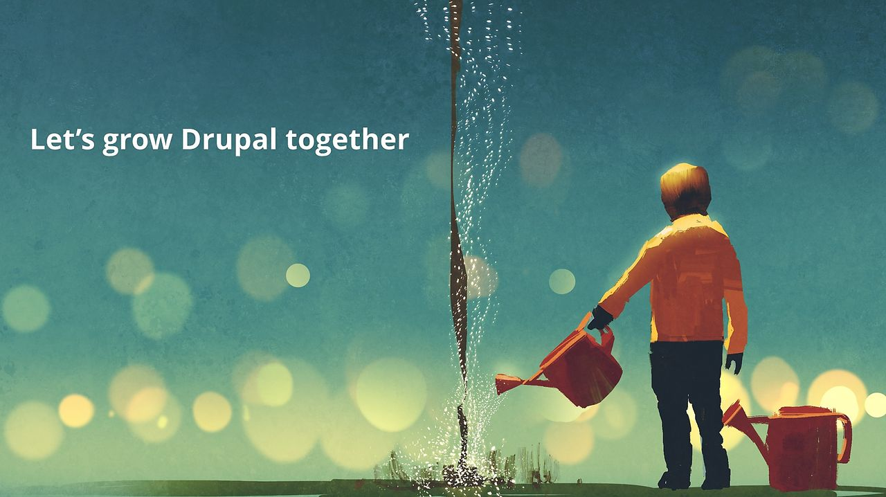 Lets grow Drupal together