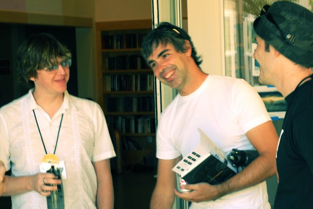 Jeff robbins larry page and evan williams