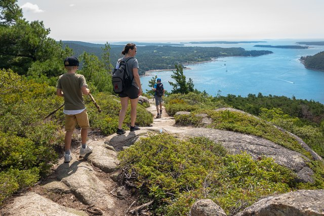 Acadia Mountain Trail
