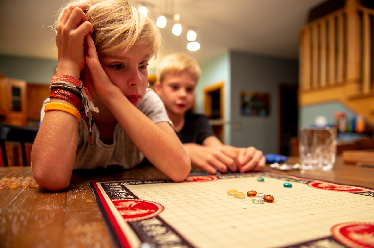 Playing a game of Pente
