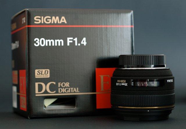 Sigmamm f1.4
