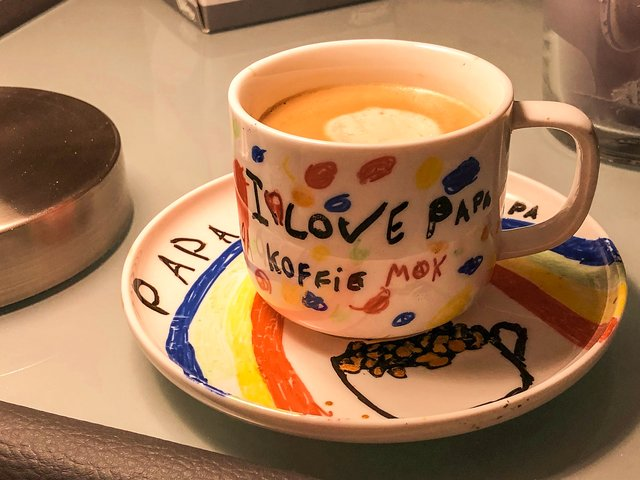 Fortieth birthday coffee mug