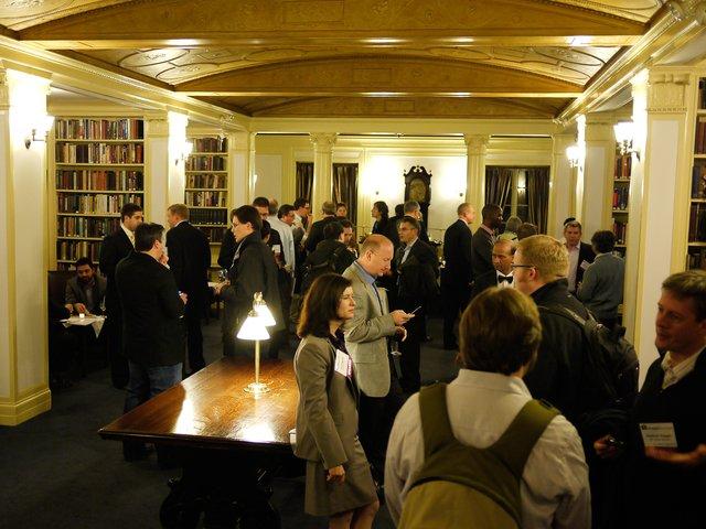 Drupal business summit reception