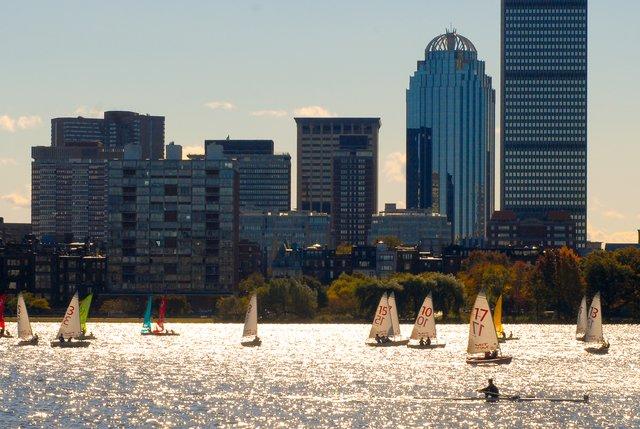 Charles river sailing
