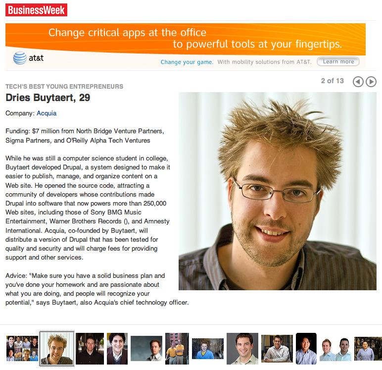 Businessweek techs best young entrepreneurs