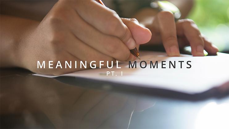 Purpose moments part