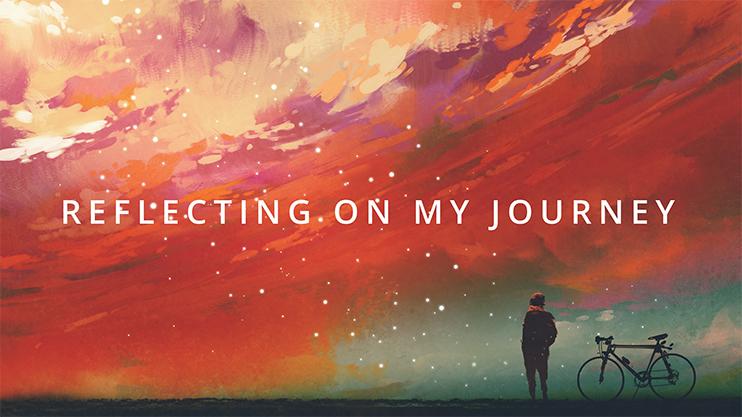 Purpose reflecting on journey