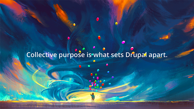 Purpose sets drupal apart
