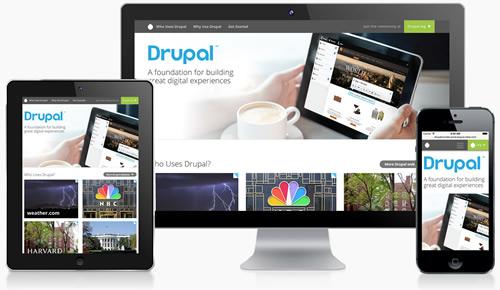 Drupal com devices