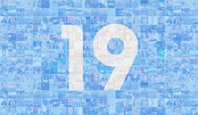 Happy nineteenth birthday