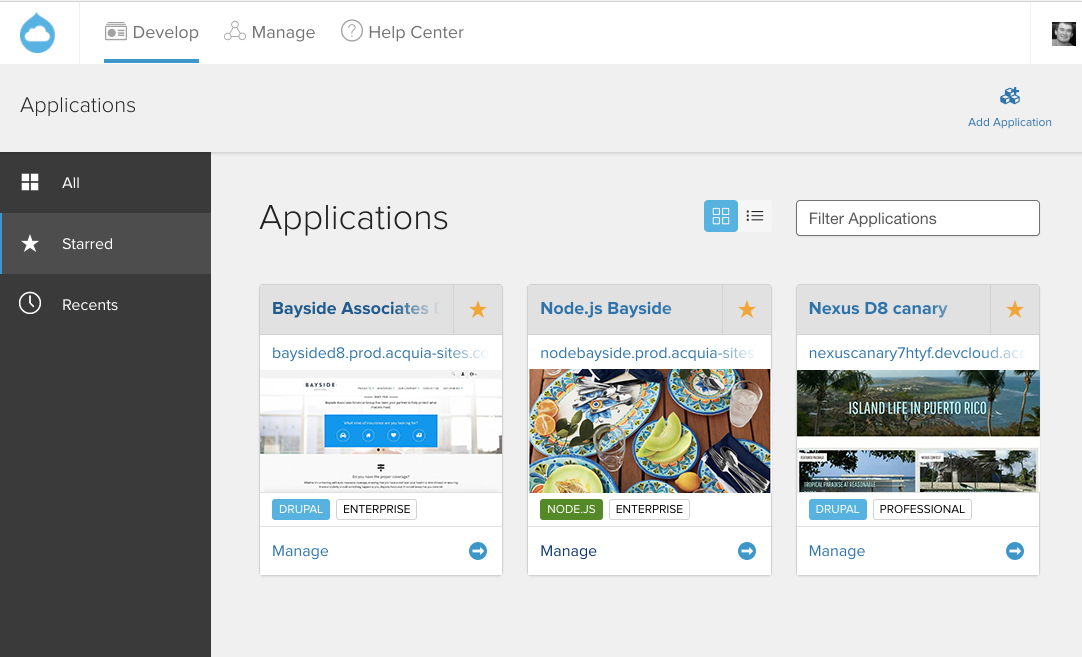 Acquia Cloud now supports Node.js for Headless Drupal