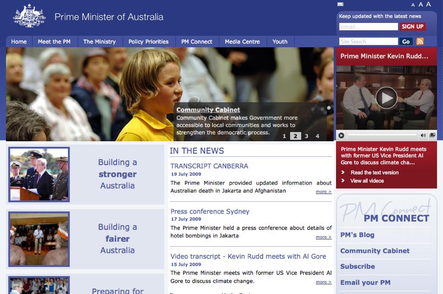 Prime minister australia