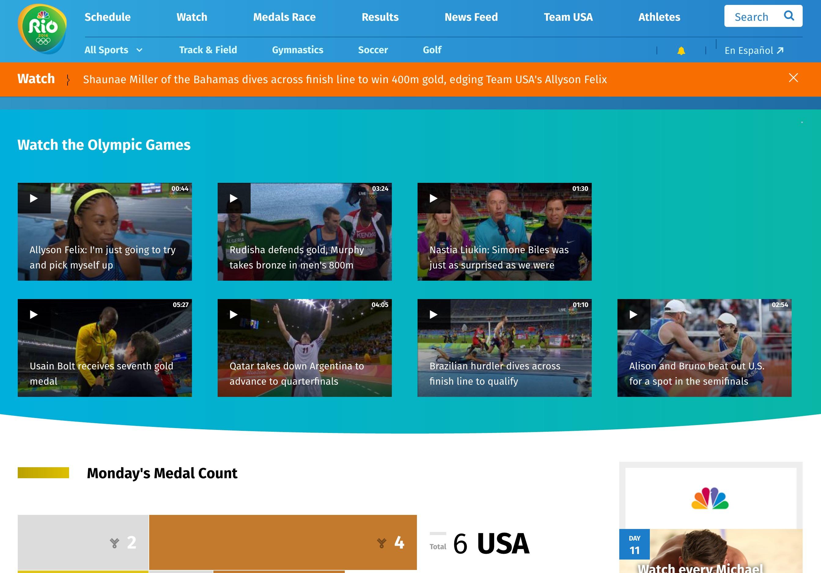 Rio website
